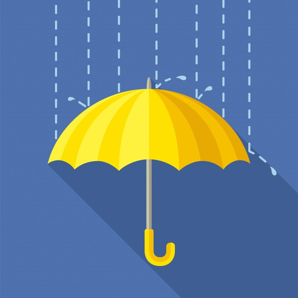 天候に影響されるリスクがある