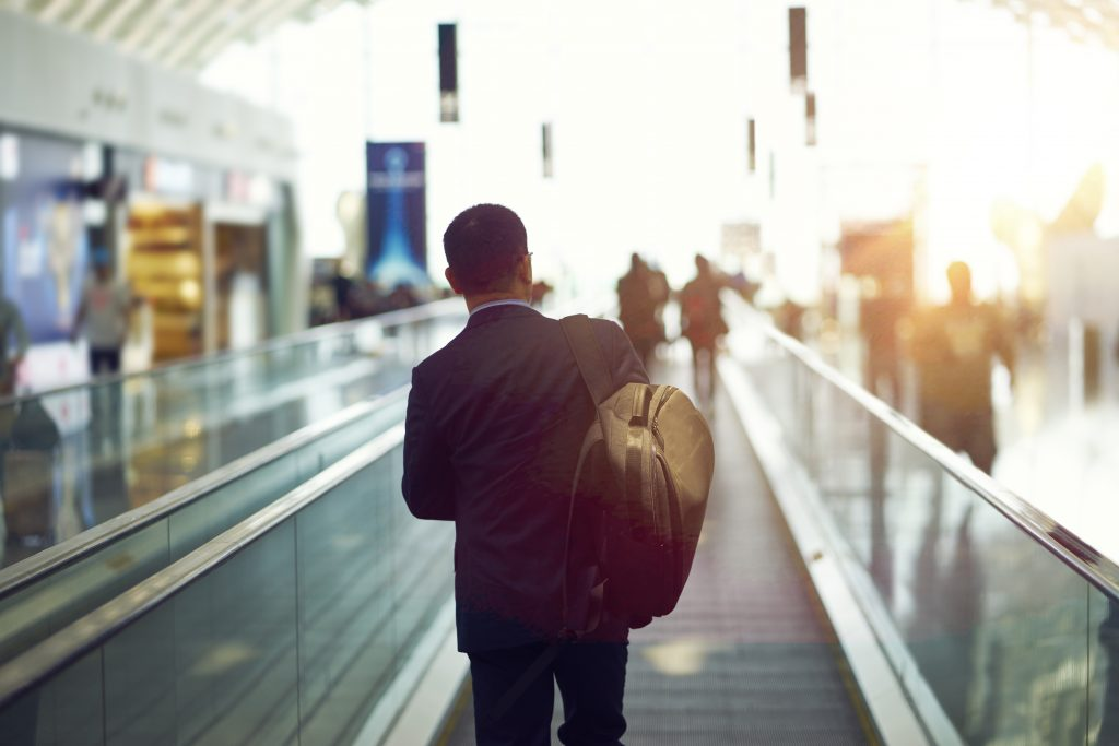 荷物が多くても通勤しやすい